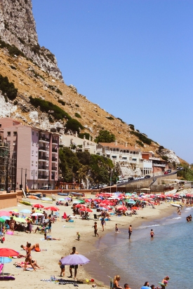 Catalan Bay Beach