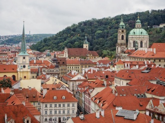 A view from Prague Castle