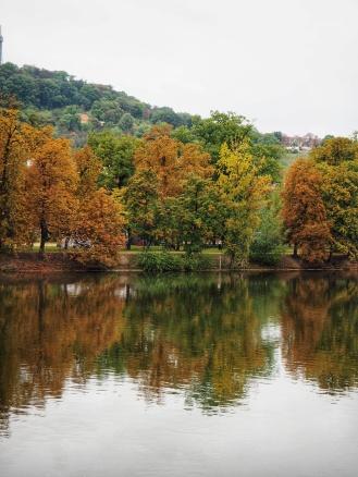Prague during Autumn